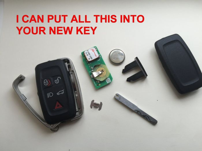 DEFENDER2 NET - View topic - [For Sale] 5 Button Key Fob